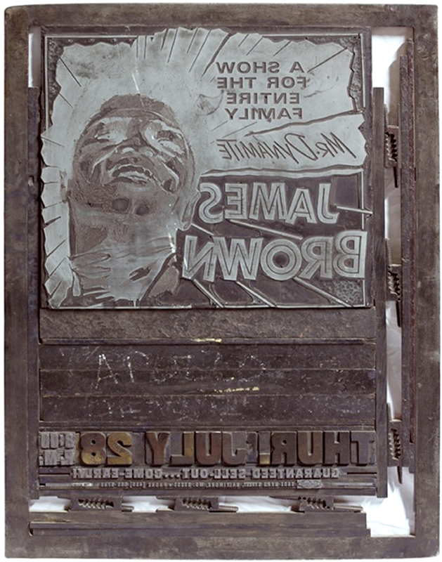 "Globe Poster - James Brown ""Mr. Dynamite"" Lockup"