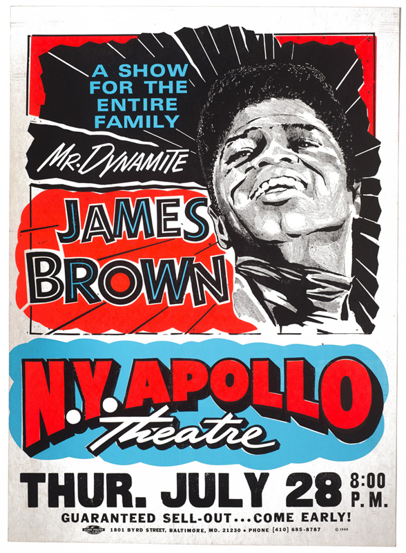 Globe Poster - James Brown Mr. Dynamite Concert Poster