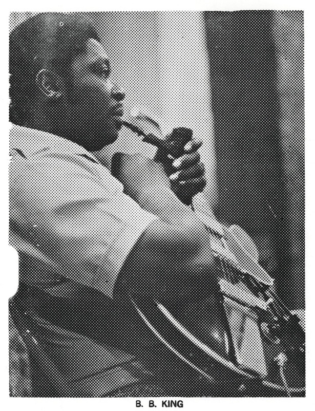 B.B. King – Letterpress Proof 2