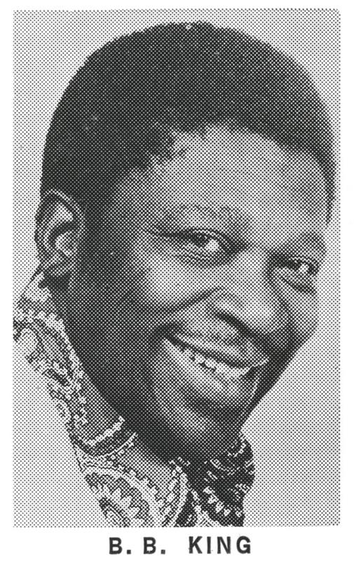B.B. King – Letterpress Proof