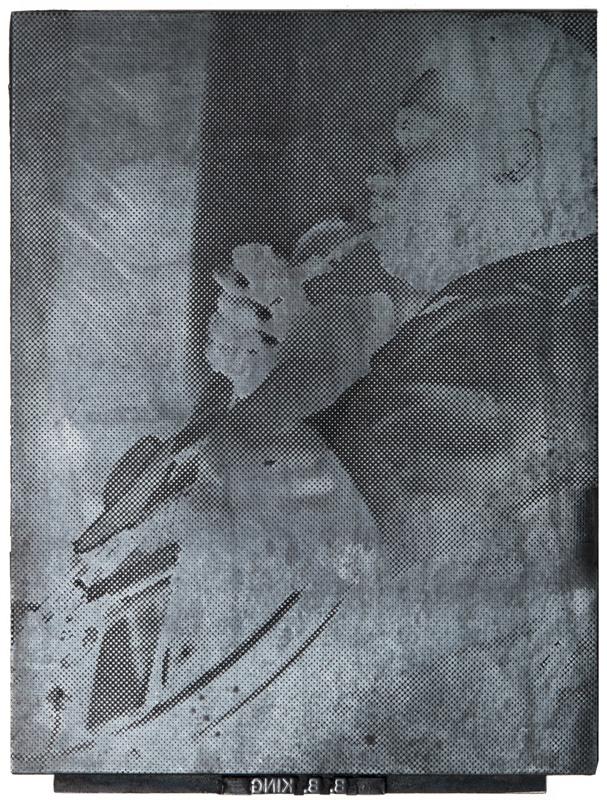 Globe Poster - BB King - Photo cut