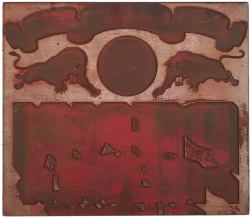 Globe Poster - Penn Premier Circus - Red Layer