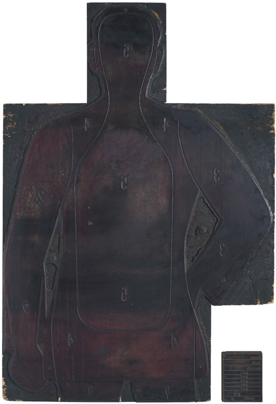 Law Enforcement Shooting Target – Image Cut