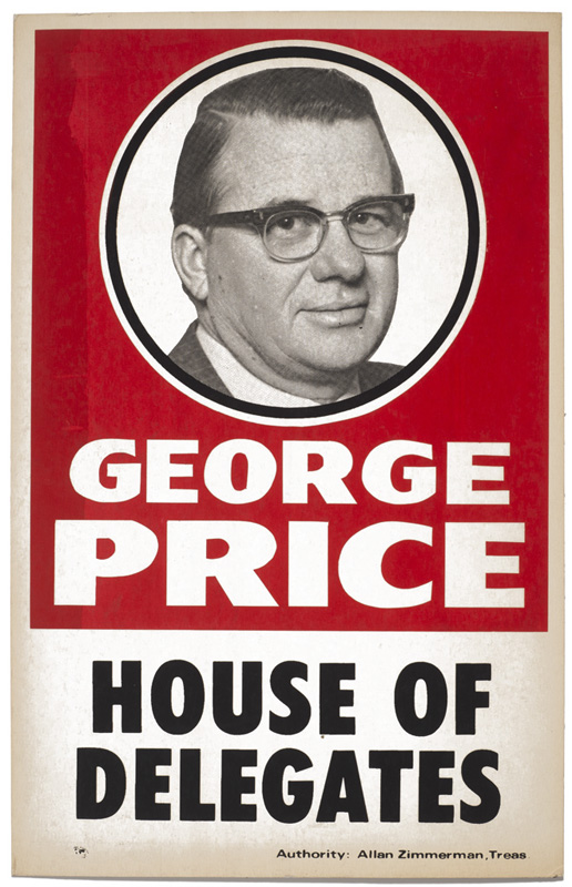 George Price – Political Poster