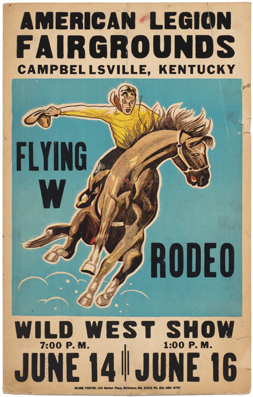 Wild West Show – Rodeo Poster