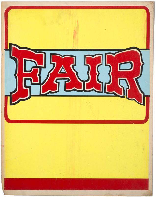 Globe Poster - Greensboro Agricultural Fair - Stock background