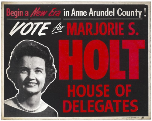 Majorie S. Holt – Poster