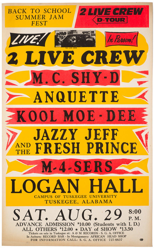 Globe Poster - 2 Live Crew