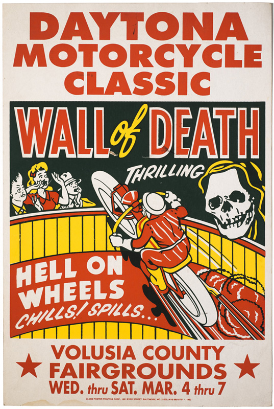 Globe Poster - Wall of Death - Poster