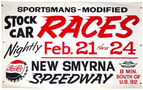 Stock Car Races – Motor Sports Poster