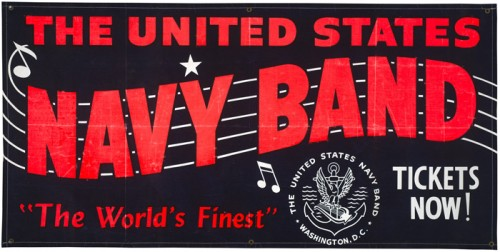 The United States Navy Band – Poster