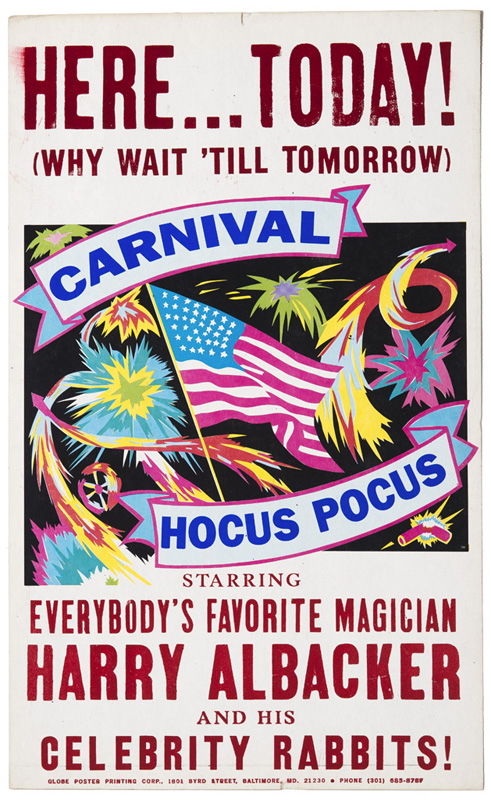 Globe Poster - Carnival Package - Fireworks Poster