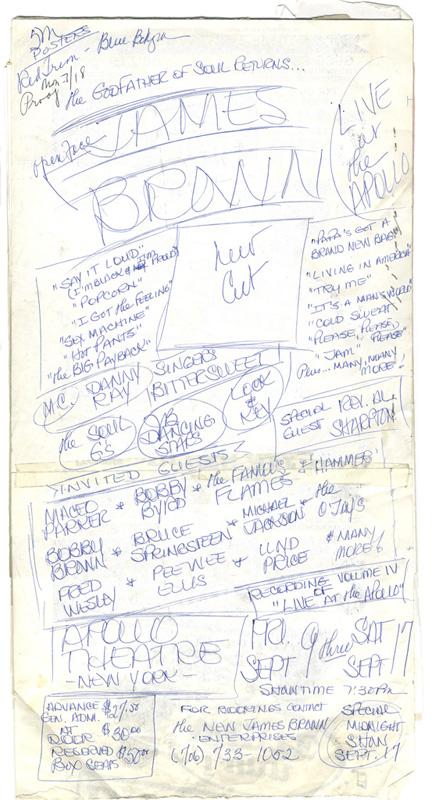 James Brown, Godfather of Soul Returns – Sketch