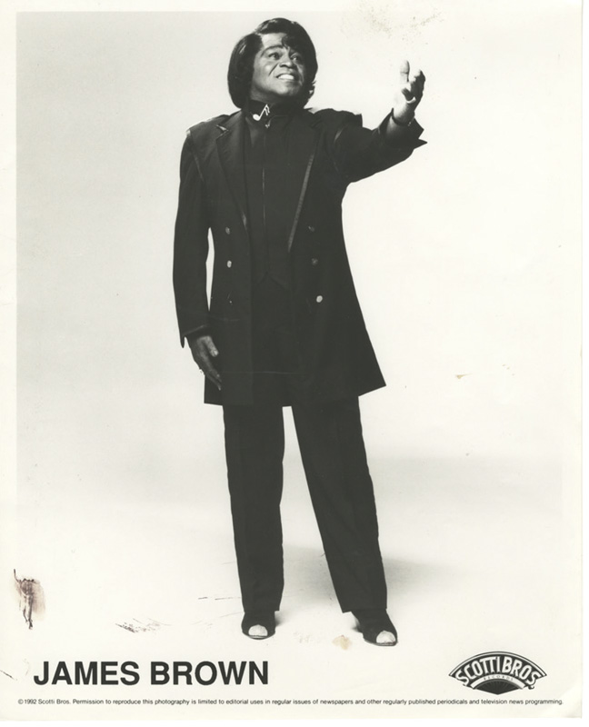 James Brown, Godfather of Soul Returns – Photo From Client