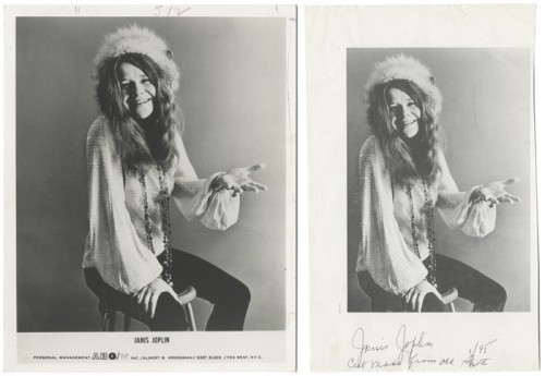 Janis Joplin – Photo and Photo Mechanical