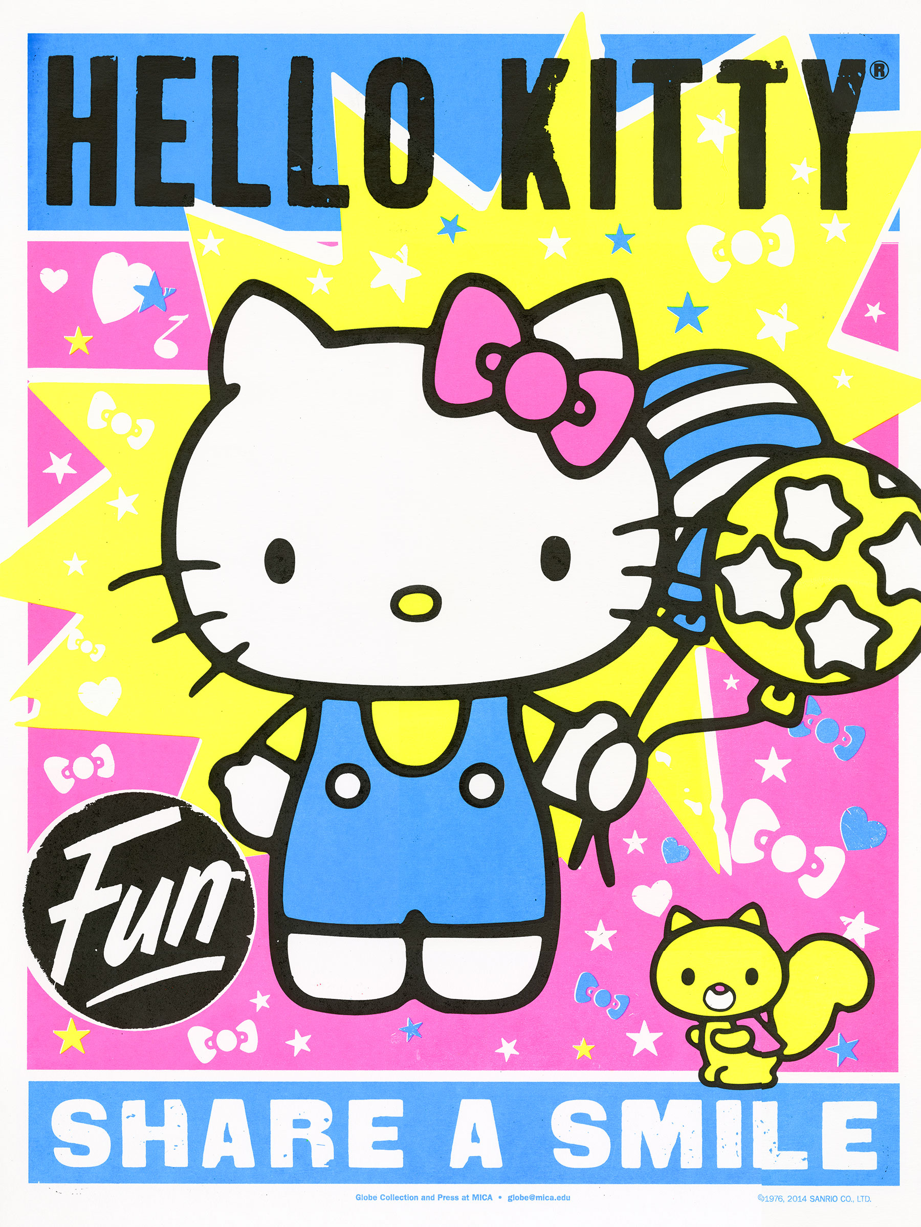 Globe Poster - Hello Kitty - Fun